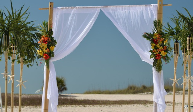 Beach wedding cost in Florida