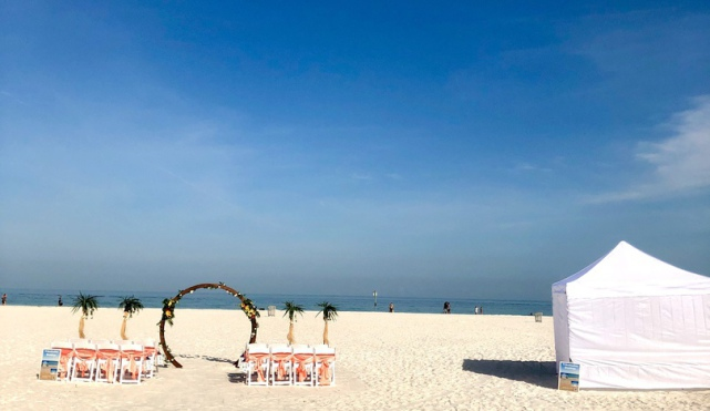 All inclusive beach weddings